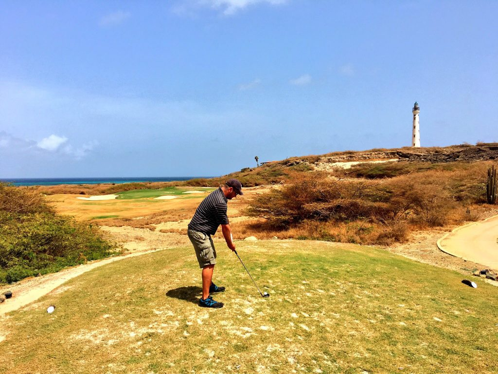 My Fourth Trip to Aruba, Aruba, Tierra Del Sol, golf