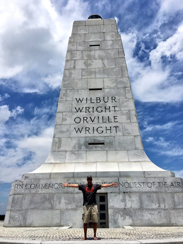 3 Days in the Outer Banks of North Carolina, Outer Banks, OBX, North Carolina, Carolina, Kill Devil Hills, Wright Brothers National Memorial