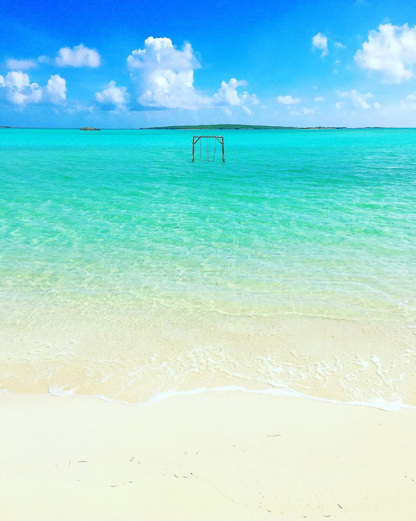 5 Awesome Things to do in the Exumas, Bahamas, swimming pigs, Exuma, Exumas, Cocoplum Beach,