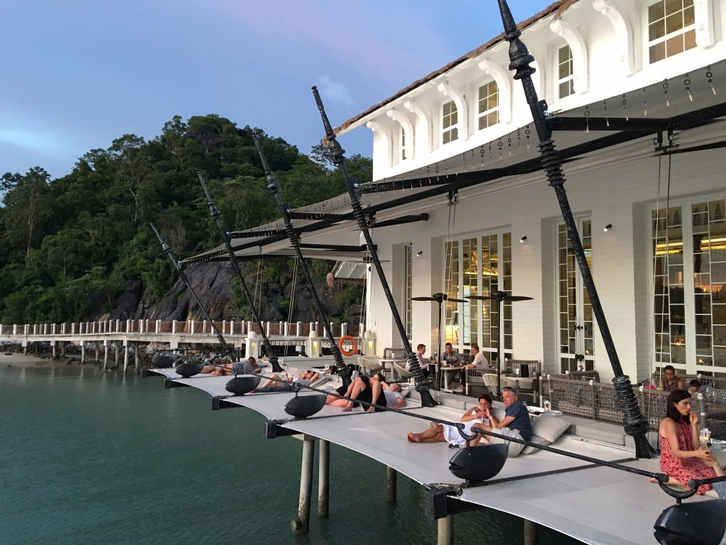 2 Days in Langkawi, Malaysia, sunset bar, St. Regis
