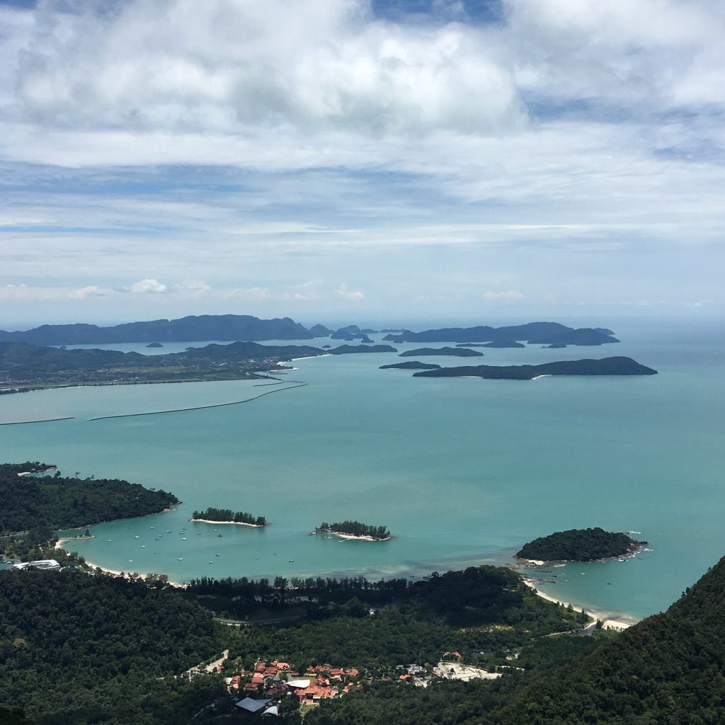2 Days in Langkawi, Malaysia, sky bridge view