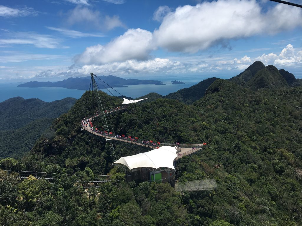 2 Days in Langkawi, Malaysia, sky bridge, cable car
