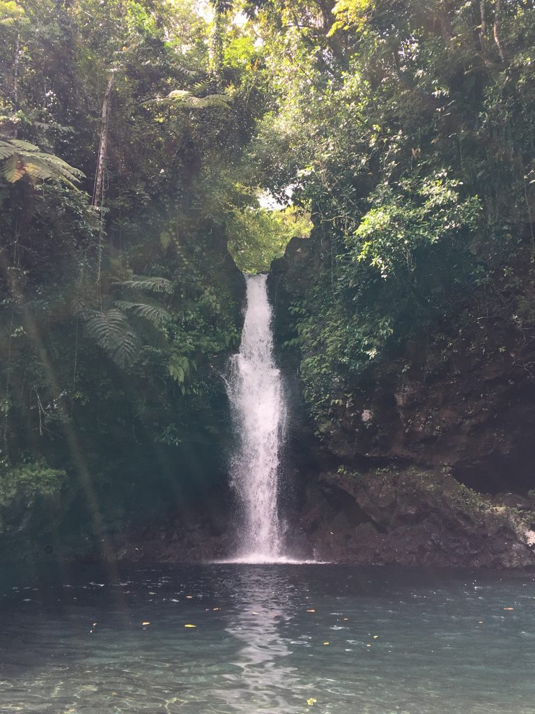 Afu A'au Waterfall, My week in Samoa, Samoa, Savaii