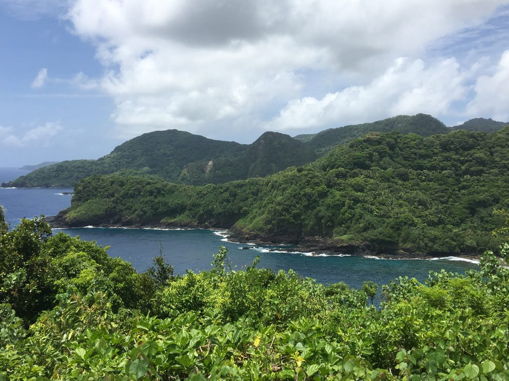 Viewpoint in the National Park of American Samoa