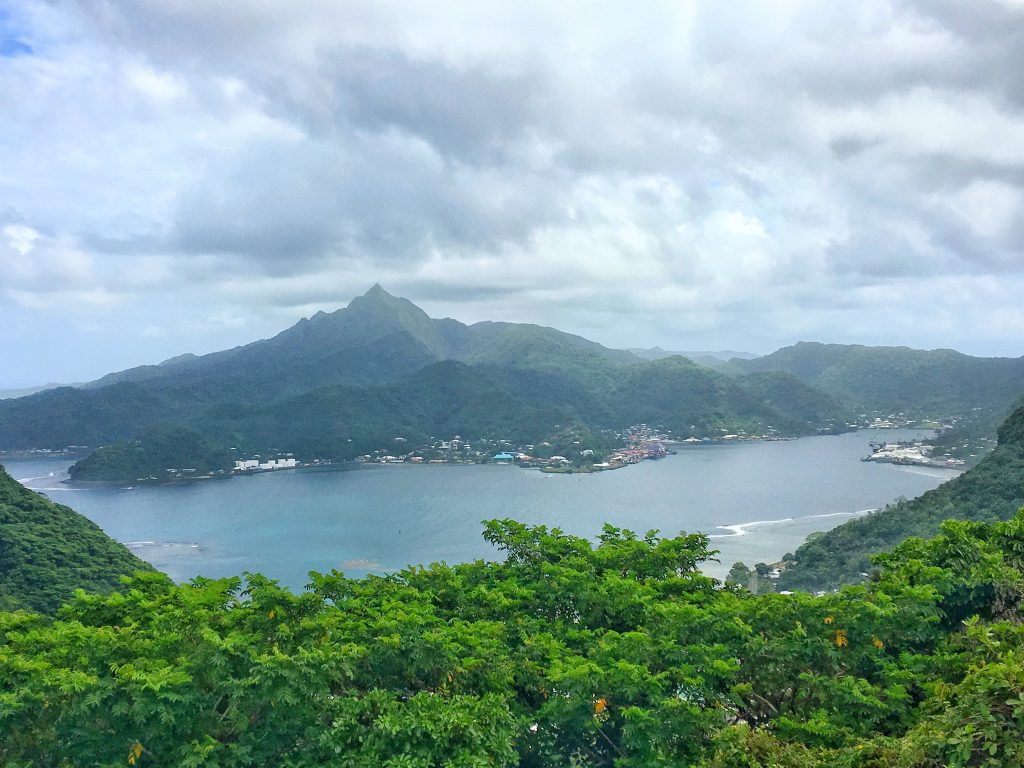 Viewpoint in the National Park of American Samoa, Pago Pago, American Samoa, Samoa