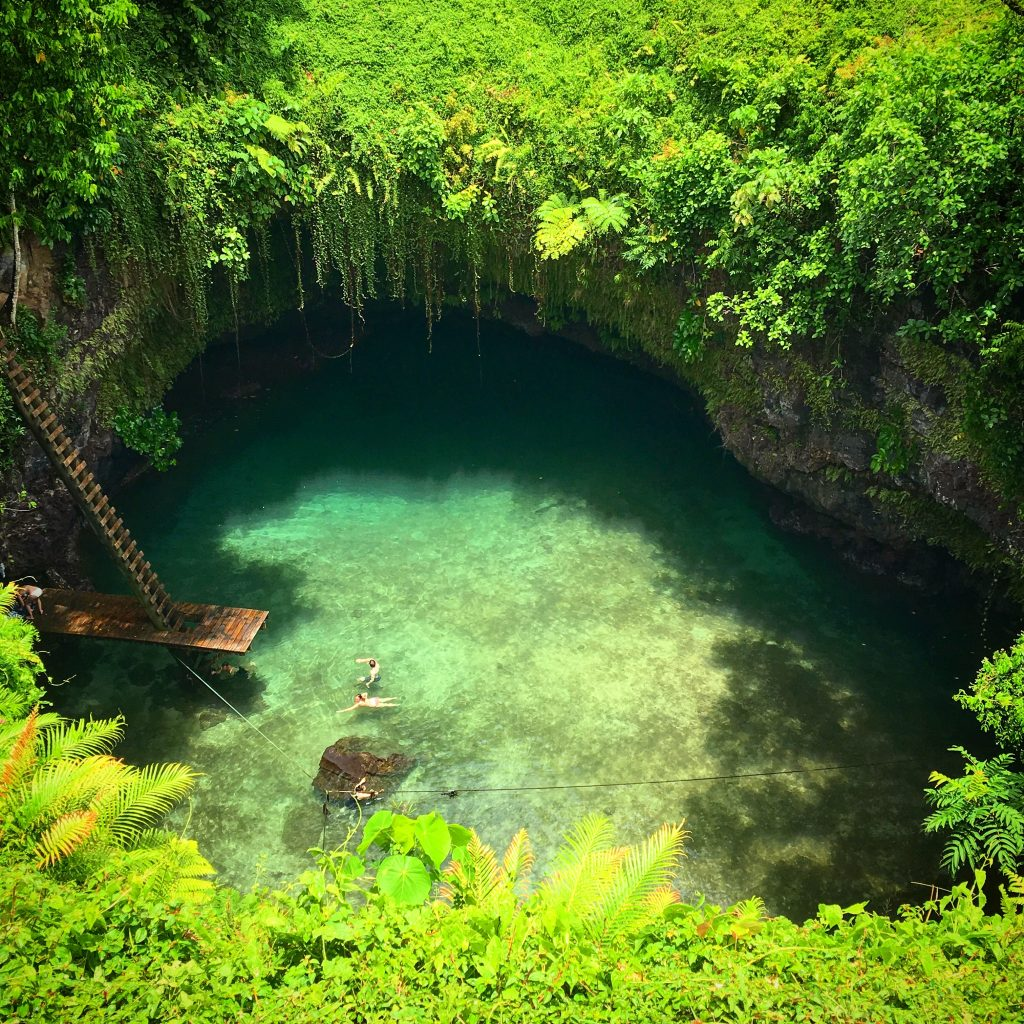 To Sua Ocean Trench, Samoa, my week in Samoa