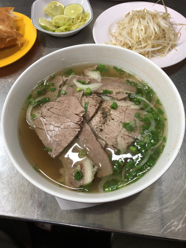 Pho off the streets is so good