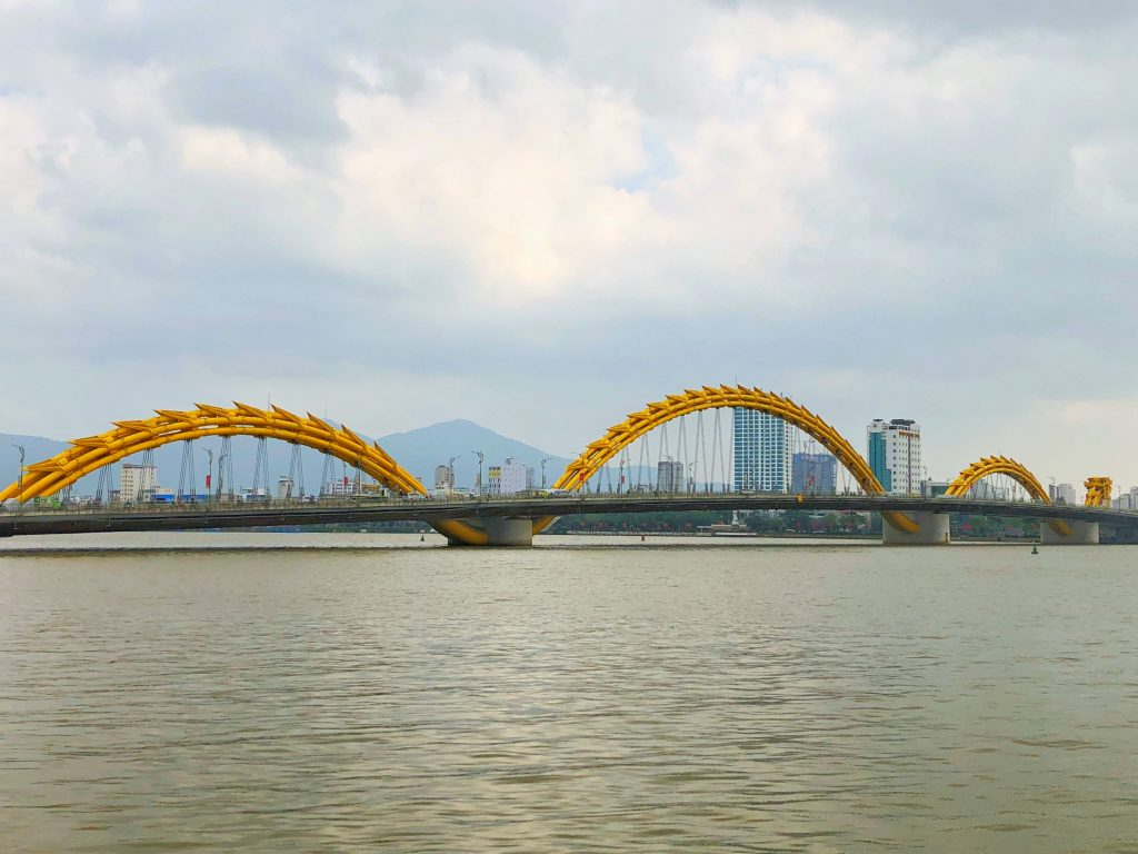 The Dragon Bridge in Danang