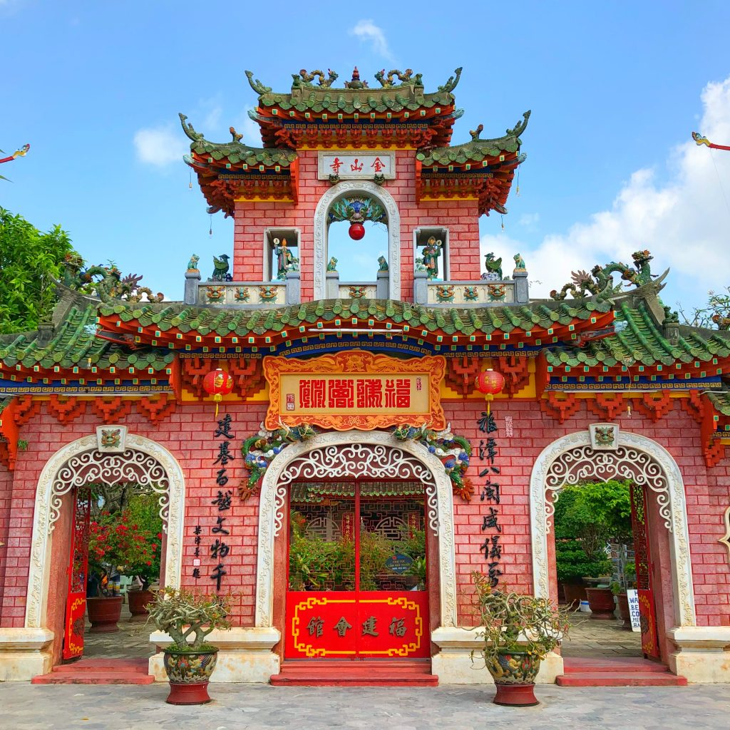 A gorgeous temple in Hoi An
