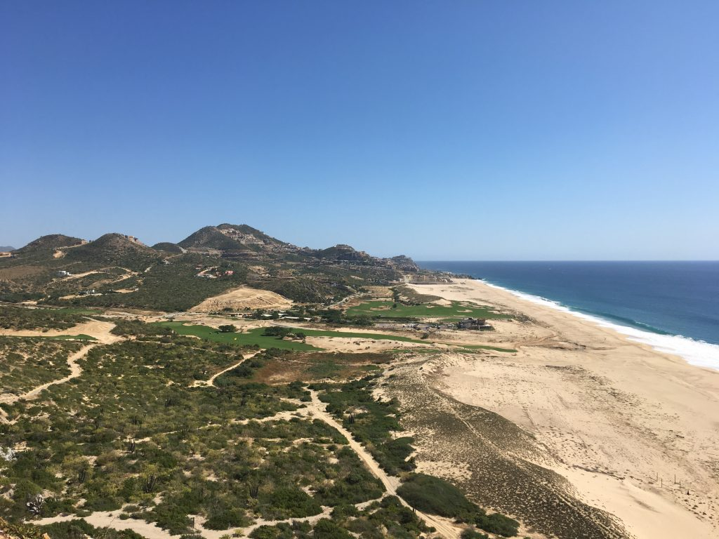 The Quivira Golf Course Comfort Station view just before the 5th hole is amazing
