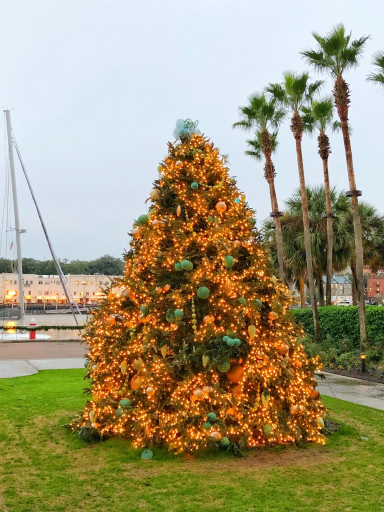 The Holidays are festive at the Westin Savannah Harbor Resort