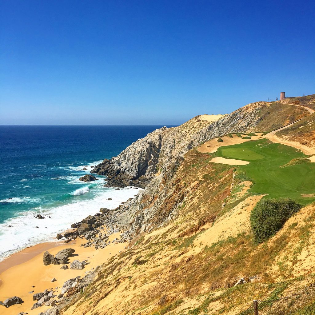 The 6th hole at Quivira Golf Course