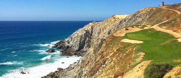 The Pueblo Bonito Golf and Spa Resorts in Los Cabos, Mexico, The 6th hole at Quivira Golf Course