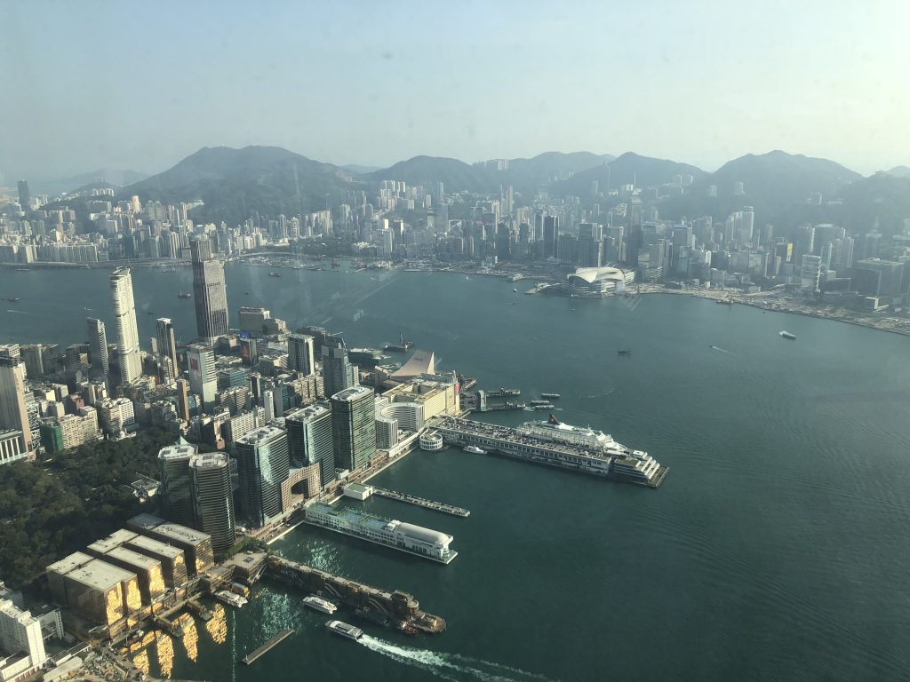 Quick Guide to Hong Kong, Ritz-Carlton
