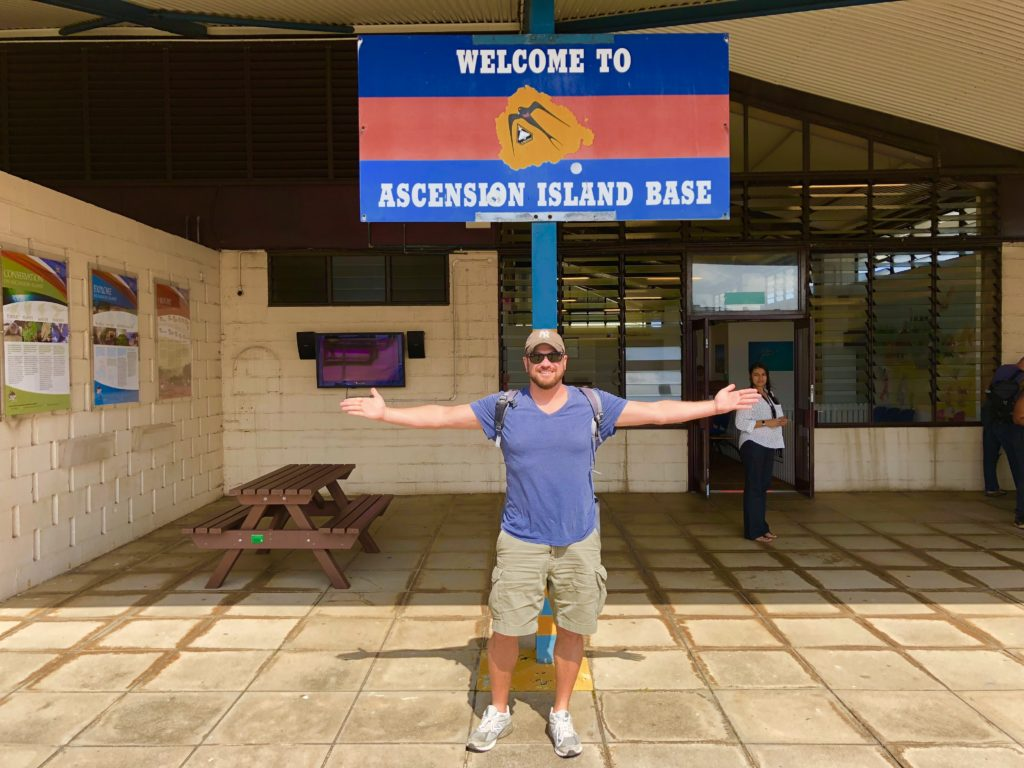 Welcome to Ascension Island, Lee Abbamonte
