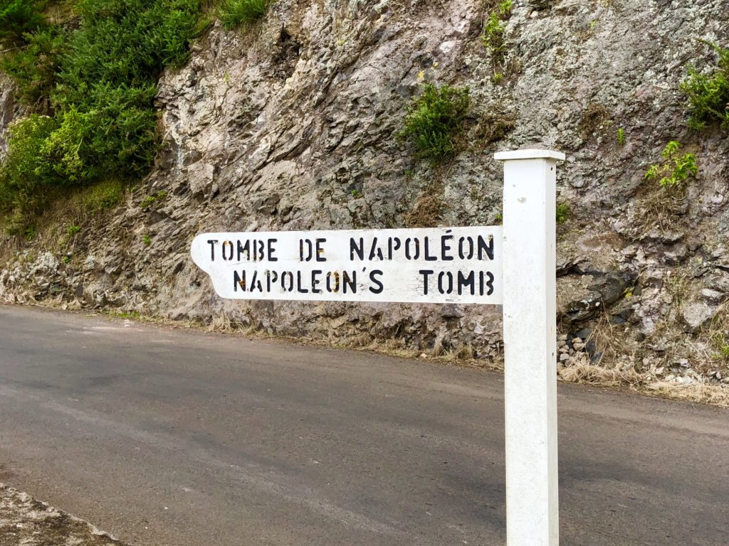 For Napoleon's tomb look down