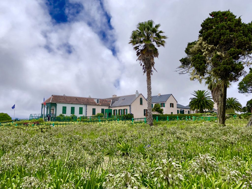 Longwood House was Napoleon's home while in exile on St. Helena