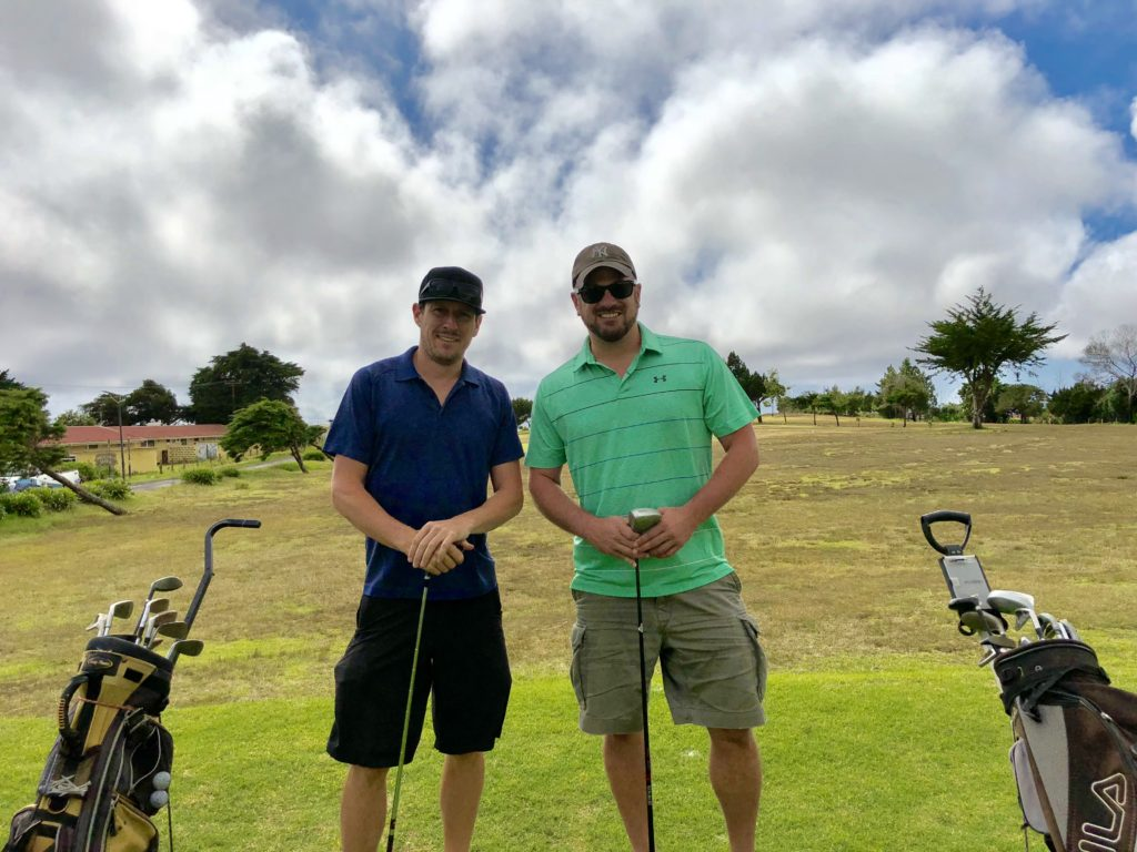 Golfing the worlds most remote golf course on St. Helena
