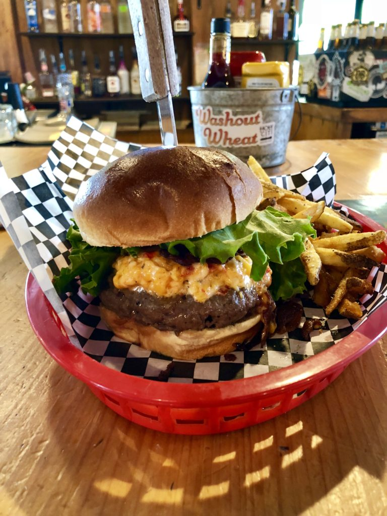 Pawleys, The absurd burger at Pawley's in Columbia, South Carolina