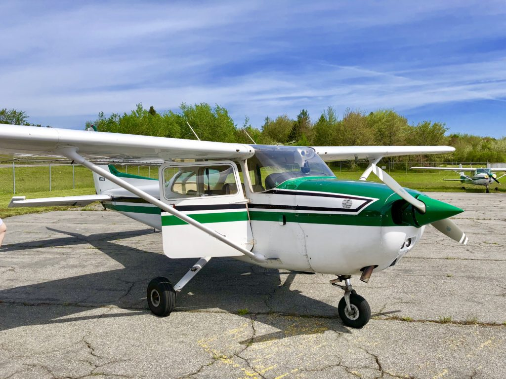 Little Cessna for the Acadia by air tour