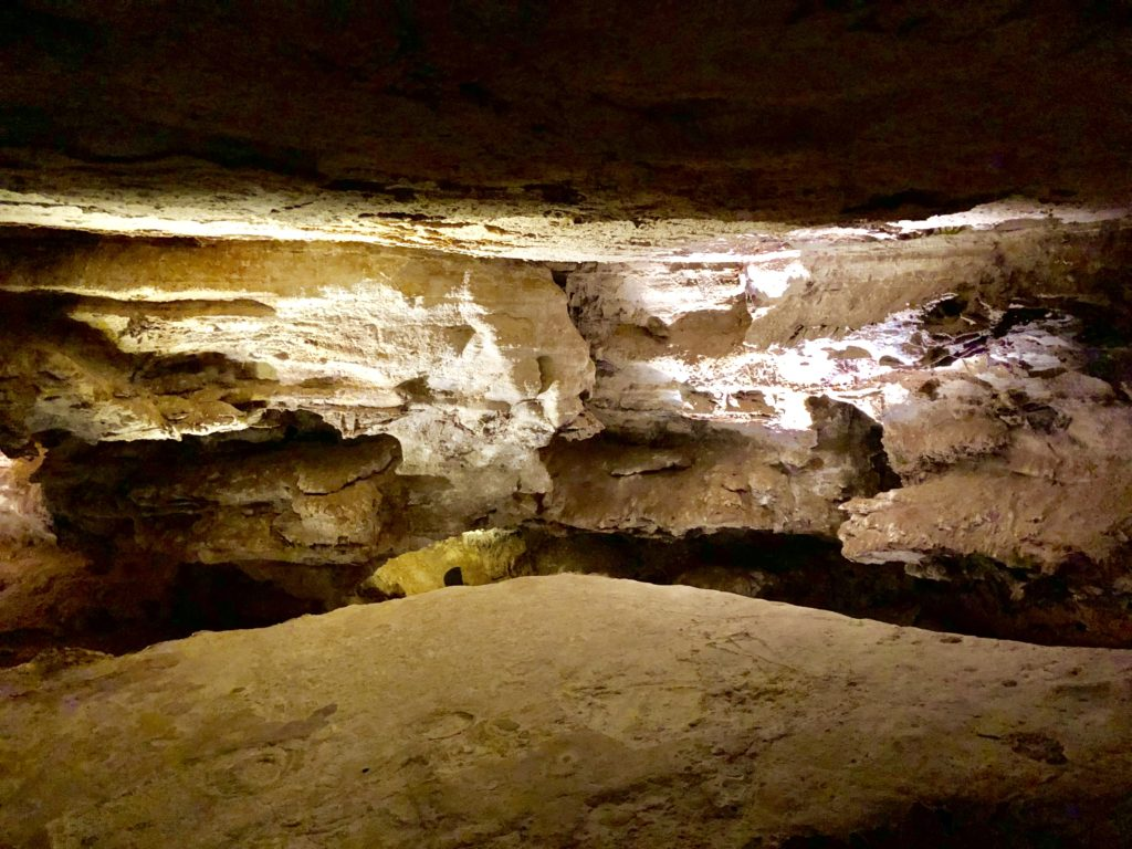 The Assembly Room inside Wind Cave National Park