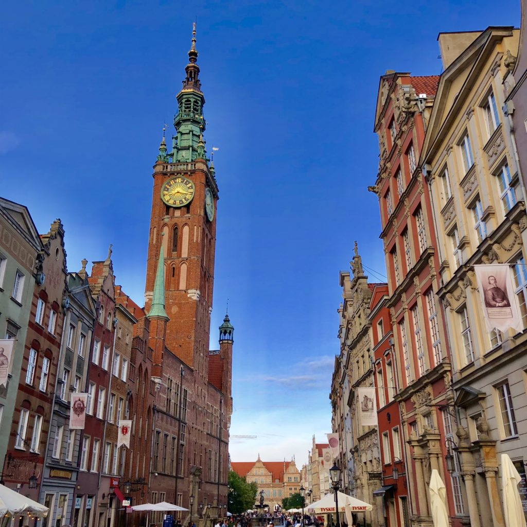 Gdansk is a great place to walk around