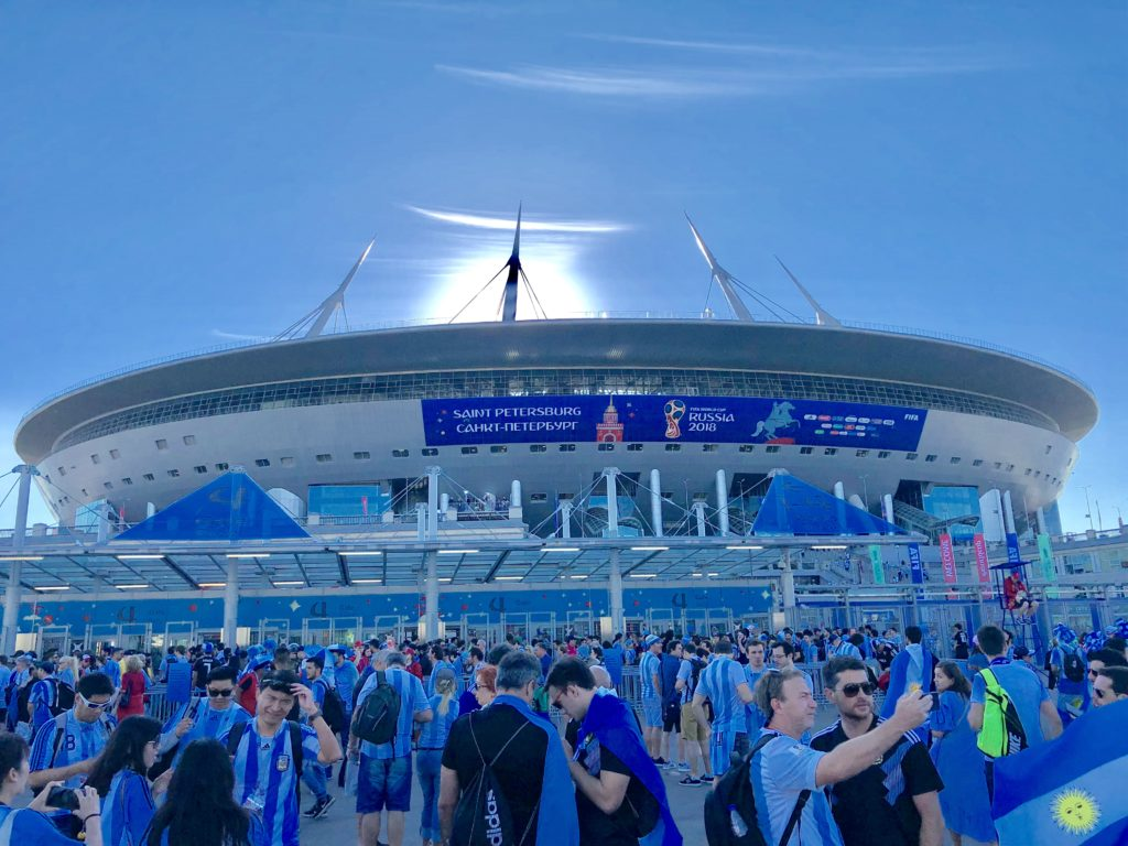 St. Petersburg Stadium is one of the best stadiums I've ever been to