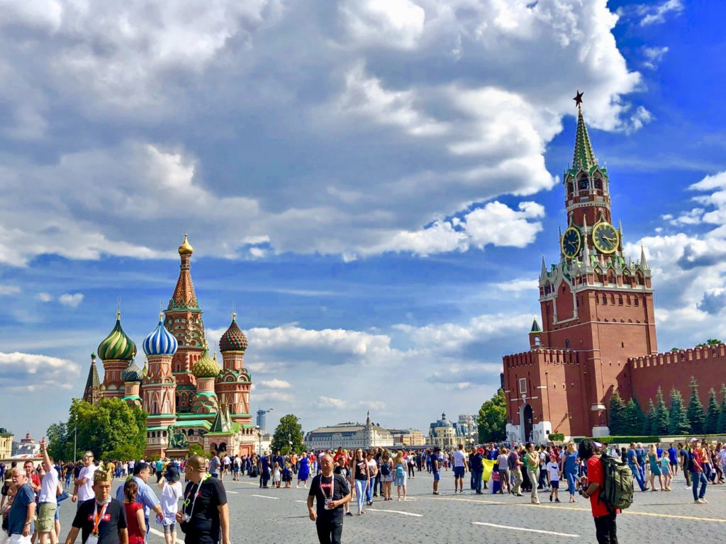 The Kremlin is always imposing in Red Square