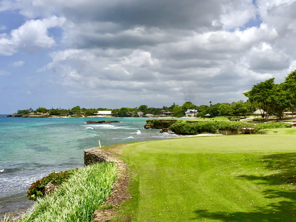 Stunning Caribbean side holes at Teeth of the Dog