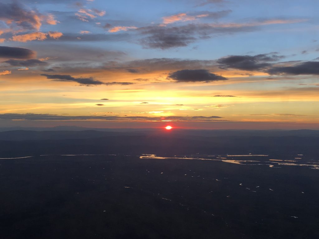 landing into Fairbanks at 1am