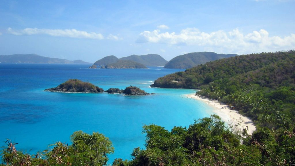 Trunk Bay in Virgin Islands National Park