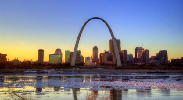 St Louis and the Gateway Arch National Park