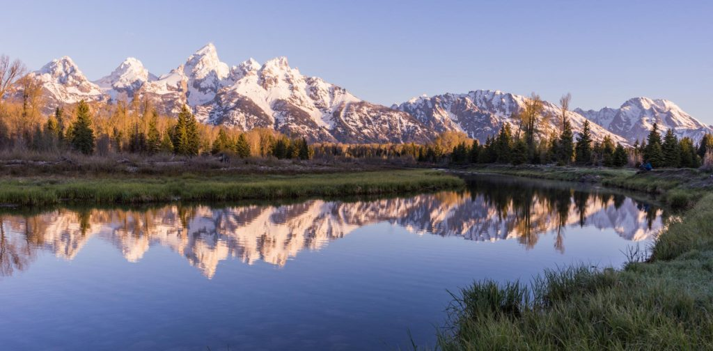 Reflections in Grand Teton National Park