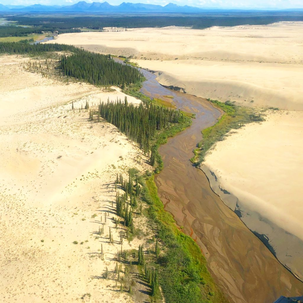 12 miles of sand dunes high above the Arctic Circle in Kobuk Valley National Park