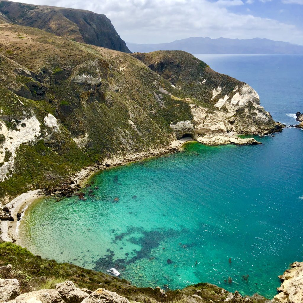 One of the gorgeous beaches in Channel Islands National Park