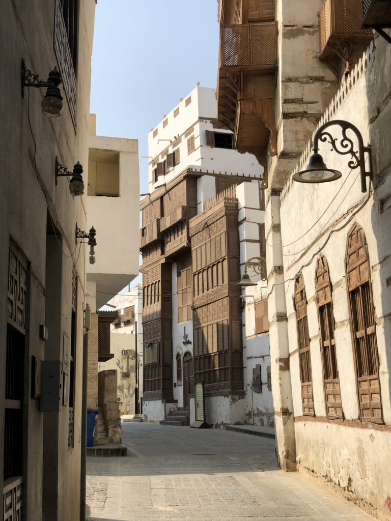 Al Balad, the old city of Jeddah is a UNESCO World Heritage Site