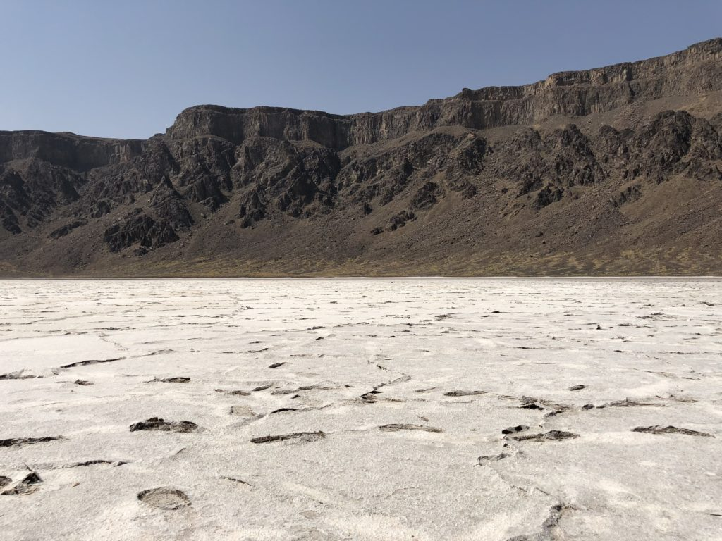 Inside the Al Wahbah Crater