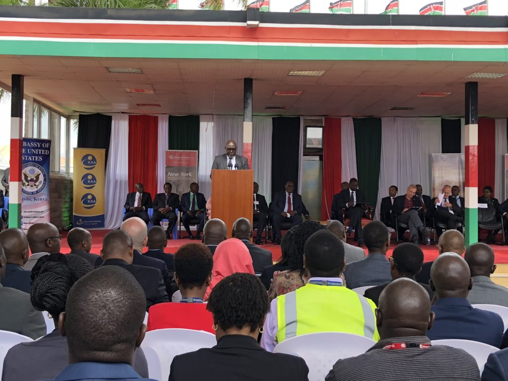 The press conference with the Deputy President and other dignitaries