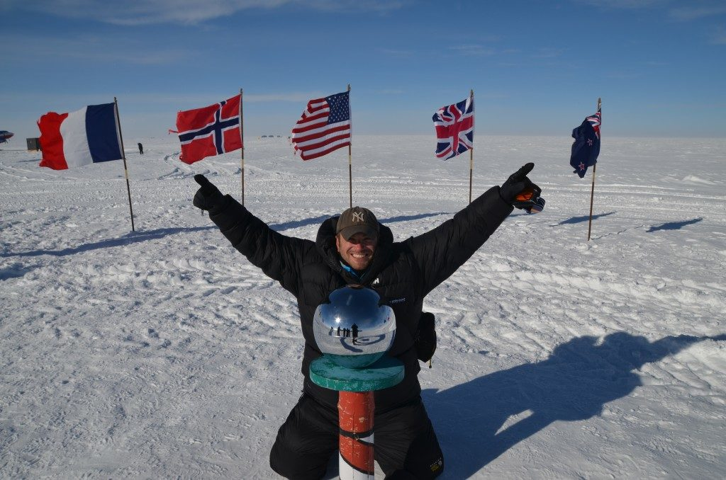 The South Pole 2014, My Top Four Travel Milestones