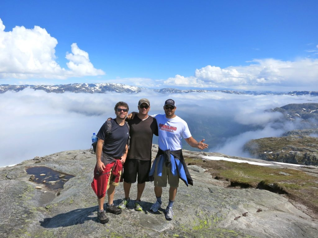 Hiking in Norway 2012