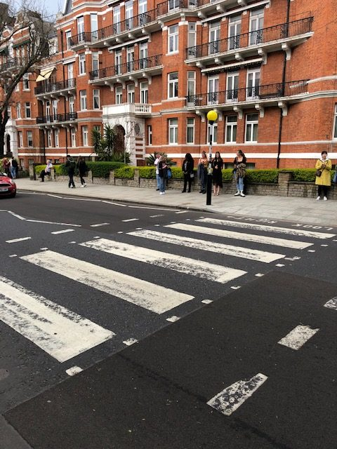 5 Awesome Things to do in London, Abbey Road, zebra crossing, Beatles