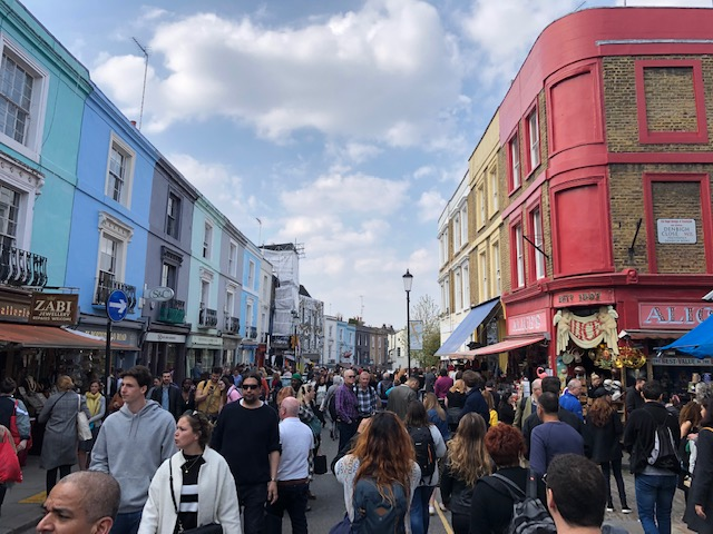 5 Awesome Things to do in London, Portobello Road, market