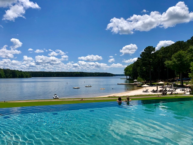 Ritz-Carlton Reynolds pool, 3 Days at Reynolds Lake Oconee