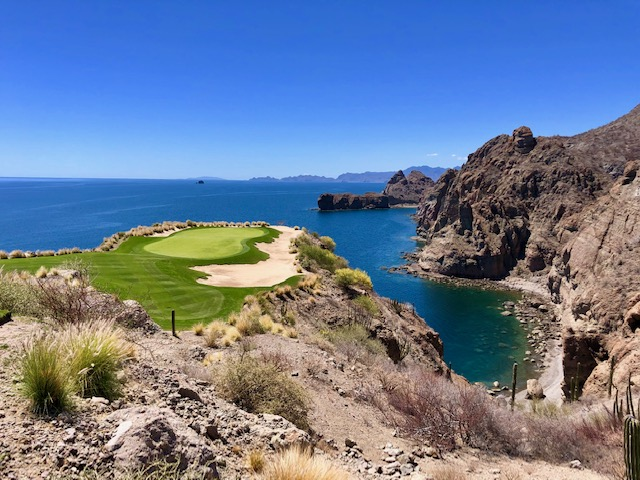 Danzante Bay and the Islands of Loreto, TPC Danzante Bay, golf, TPC, Danzante Bay, Mexico, Loreto, 17th Hole