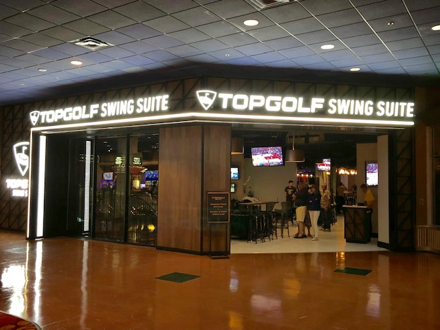 Top Golf Swing Suite at Silver Legacy in Reno
