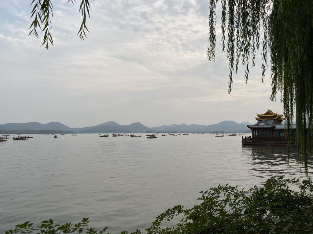 one day in Hangzhou, West Lake