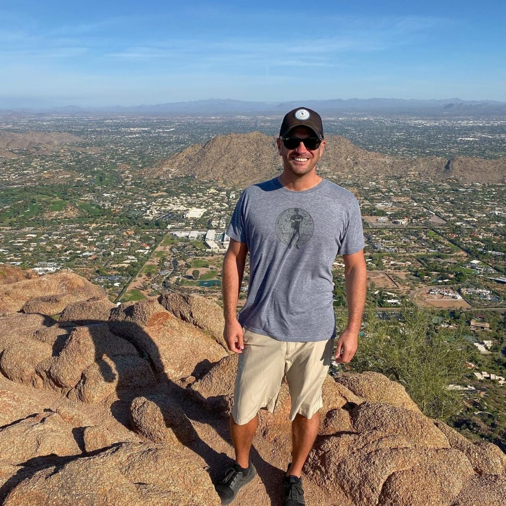 On Top of Camelback Mountain